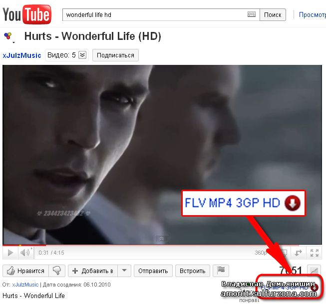 1-Click YouTube video Downloader