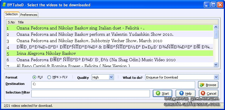 BYTubeD - Bulk YouTube video Downloader
